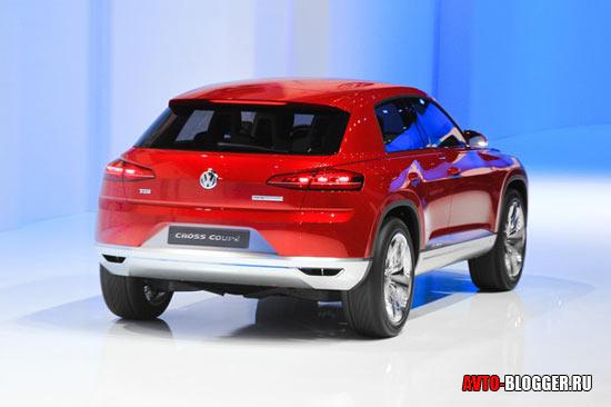Volkswagen Сross Сoupe задняя часть