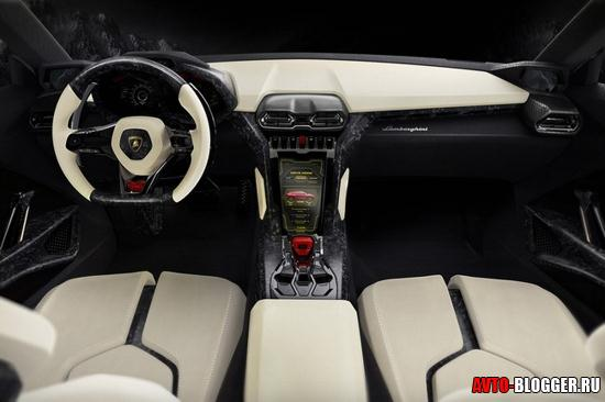 Lamborghini Urus салон