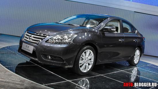 Nissan Sylphy кузов