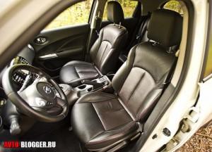 Nissan Juke, салон, фото 3