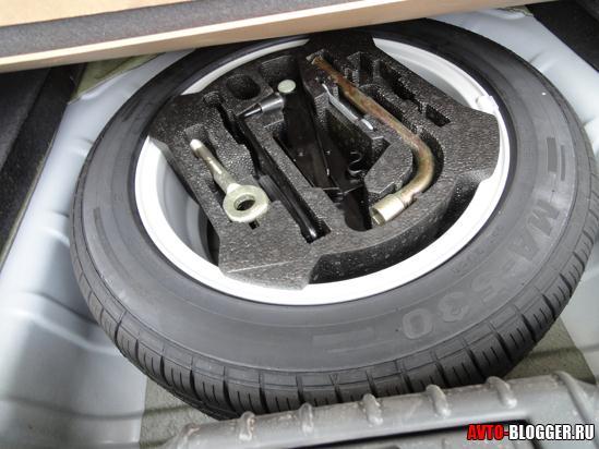 полноценное запасное колесо