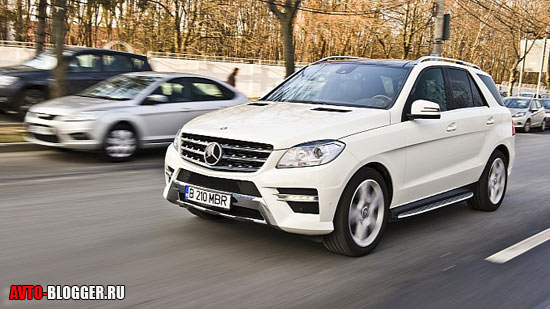 Mercedes Benz ML350 кузов