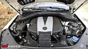 Mercedes Benz ML350, двигатель