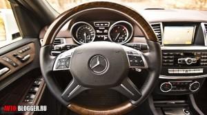 Mercedes Benz ML350, салон, фото 18