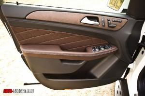 Mercedes Benz ML350, салон, фото 2
