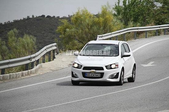 Chevrolet Аveo RS кузов
