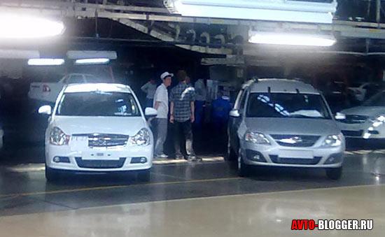 Nissan Almera и LARGUS