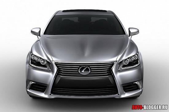 Lexus LS 2013 кузов