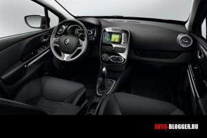 Новый Renault Clio, салон