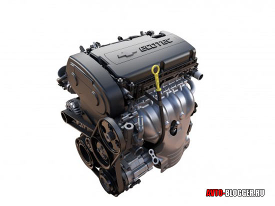 Chevrolet Aveo двигатель