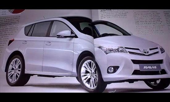 Toyota RAV4 2013 кузов