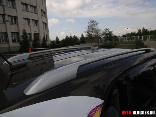 рейлинги на крыше
