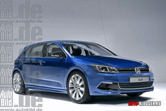 Volkswagen Golf 7 кузов