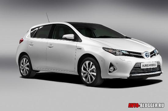 Новая Toyota Auris кузов