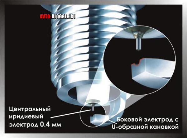 U - образный электрод