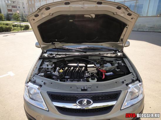 Lada Largus двигатель