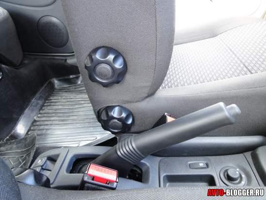 регулировки водительского кресла