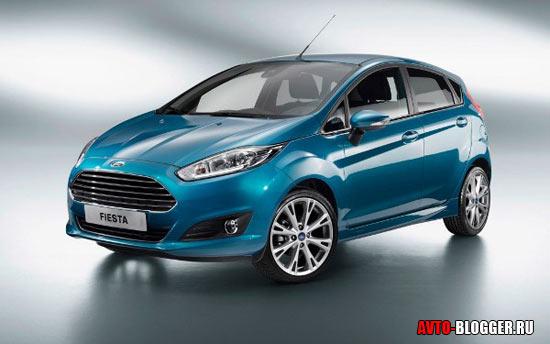 Новый Ford Fiesta кузов