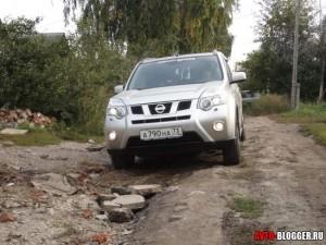 Nissan X-TRAIL, плохая дорога, фото 1