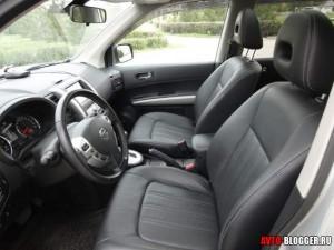 Nissan X-Trail, передние сидения, фото 1