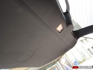 Nissan X-Trail, пятая дверь с подсветкой