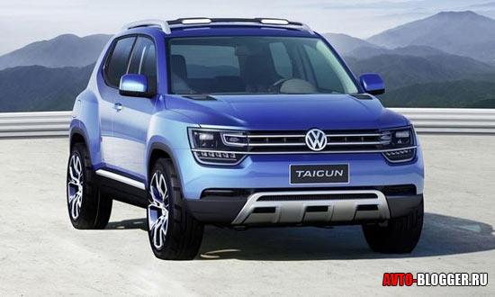 Volkswagen Taigun кузов