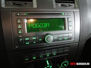 УАЗ Патриот новая панель, магнитола, фото 1