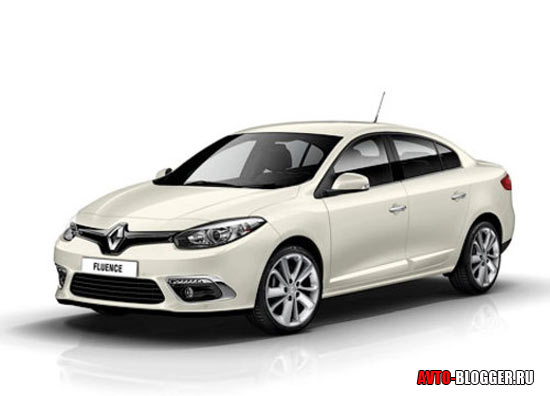 Renault Fluence кузов