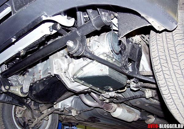 АКПП и двигатель