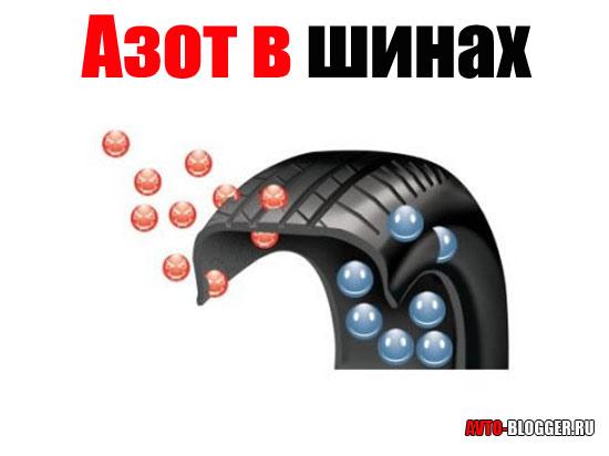 Азот в шинах