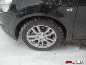 КАМА ЕВРО 519, снежная дорога, фото 1