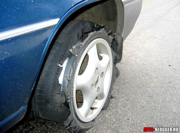 Взрыв колеса