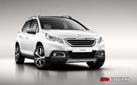 Peugeot 2008 кузов