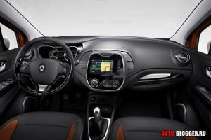 Renault Captur, салон, фото 1