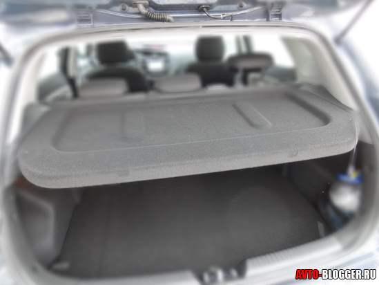 KIA CEED багажник