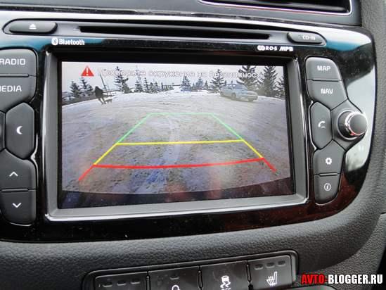Задняя камера через мультимедиа систему