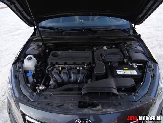 KIA Optima двигатель