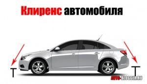Что такое клиренс автомобиля?