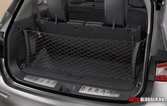 Вертикальная сетка в багажник