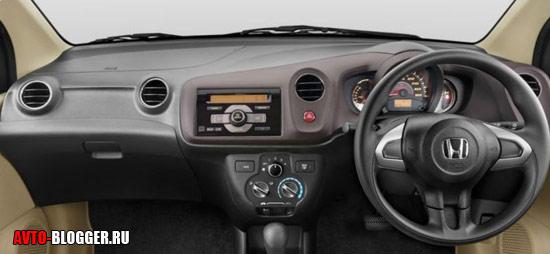 Honda Brio Amaze салон