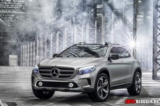 Mercedes-Benz GLA кузов