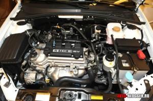 Daewoo Gentra, двигатель