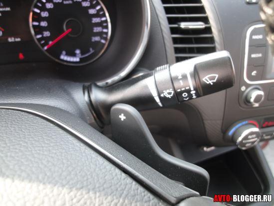 управление стеклоочистителями автомобиля