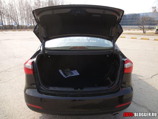 багажник внутри