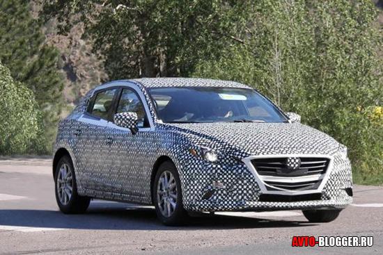 Новая Mazda 3 кузов