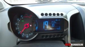 Скорость около 20 км/ч