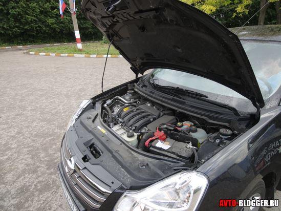 Двигатель вид сбоку