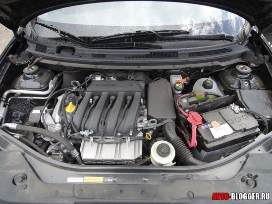 Двигатель нового NISSAN ALMERA