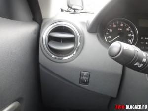 сигнал новой Nissan Almera