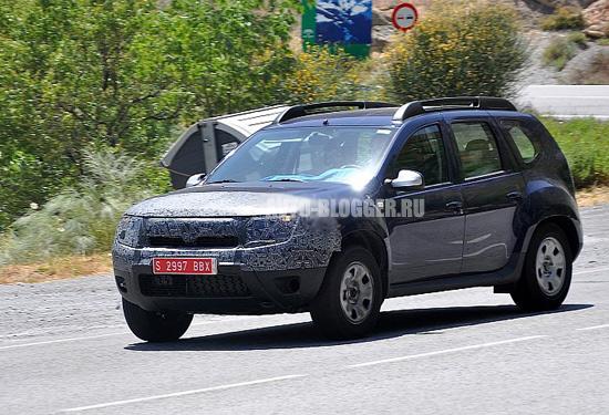 Новый Renault Duster 2014 кузов
